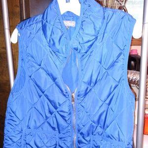 Blue vest from stitch fix